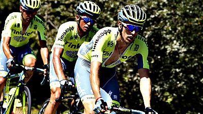 El belga Jonas Van Genechten (IAM) ha ganado la séptima etapa de la Vuelta disputada entre Maceda y Puebla de Sanabria, de 158,5 kilómetros, en la que el colombiano Darwin Atapuma (BMC) mantuvo el jersey de líder.