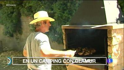 Una nueva forma de ir de camping: el Glamping