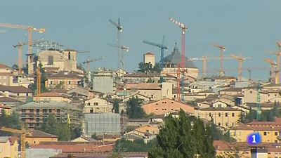L'Aquila aún muestra las cicatrices del terremoto de 2009