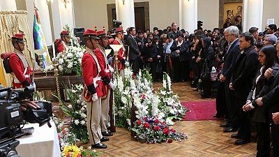 Bolivia da su último adiós al viceministro del Interior, torturado antes de morir