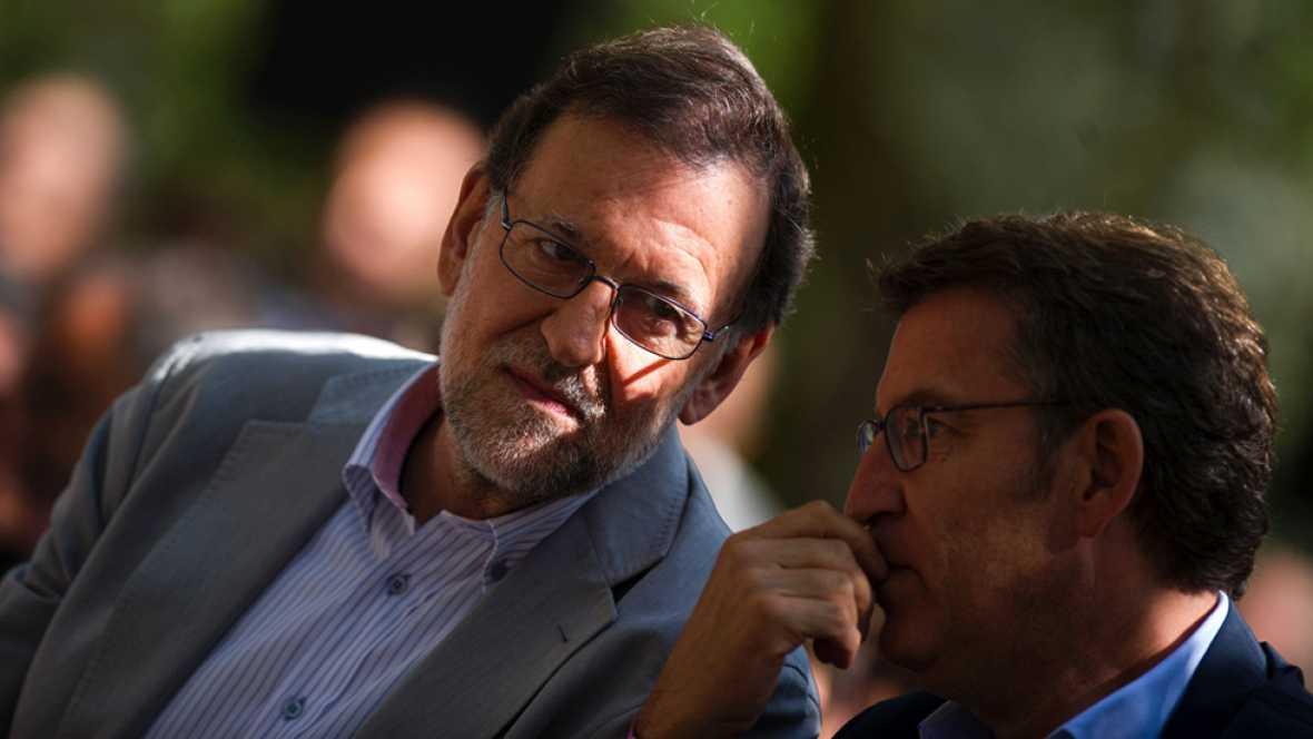"""Rajoy: """"La formaci�n de gobierno hoy es m�s un deseo que un hecho"""""""