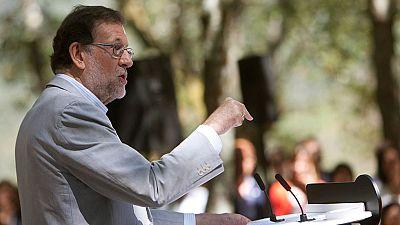 Rajoy intensifica la presi�n sobre el PSOE