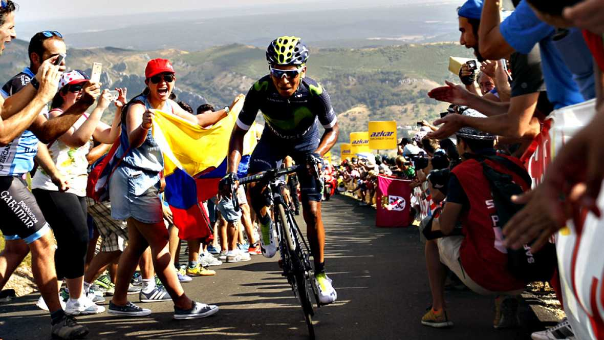 El ciclista uzbeco Sergey Lagutin (Katusha) se ha impuesto en la  octava etapa de la Vuelta a Espa�a, disputada este s�bado entre  Villalpando y Sabero de 181,5 kil�metros, superando a sus compa�eros  de fuga en el sprint final de la subida al Alto d
