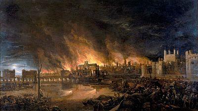 Una exposición interactiva permite recrear cómo fue el Gran Incendio de Londres