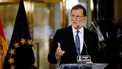 """Rajoy: """"Un acuerdo muy positivo pero insuficiente para que España tenga Gobierno"""""""