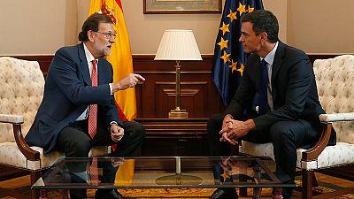 Rajoy se reunir� con S�nchez, quien volver� a rechazar la abstenci�n
