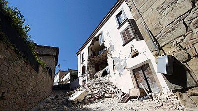 TVE accede a Accumoli, el epicentro del terremoto en Italia
