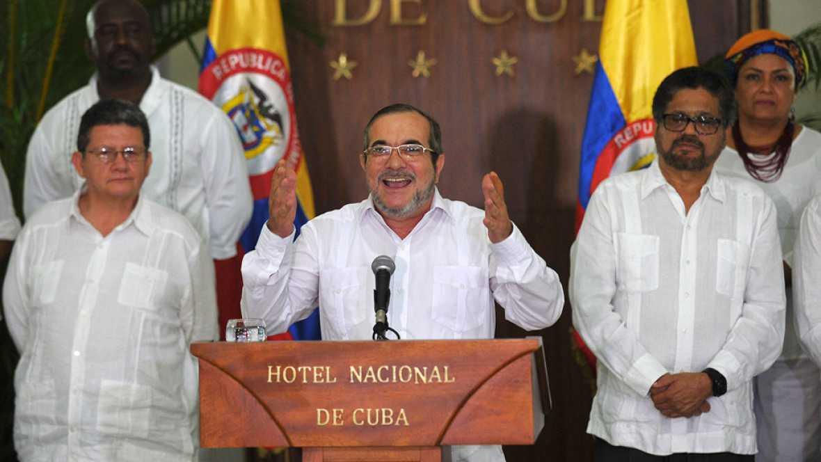 Timochenko declara desde La Habana el alto el fuego definitivo de las FARC