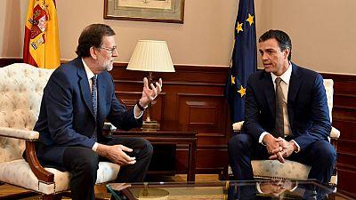 Rajoy asegura que seguir� buscando el apoyo del PSOE despu�s del dos de septiembre