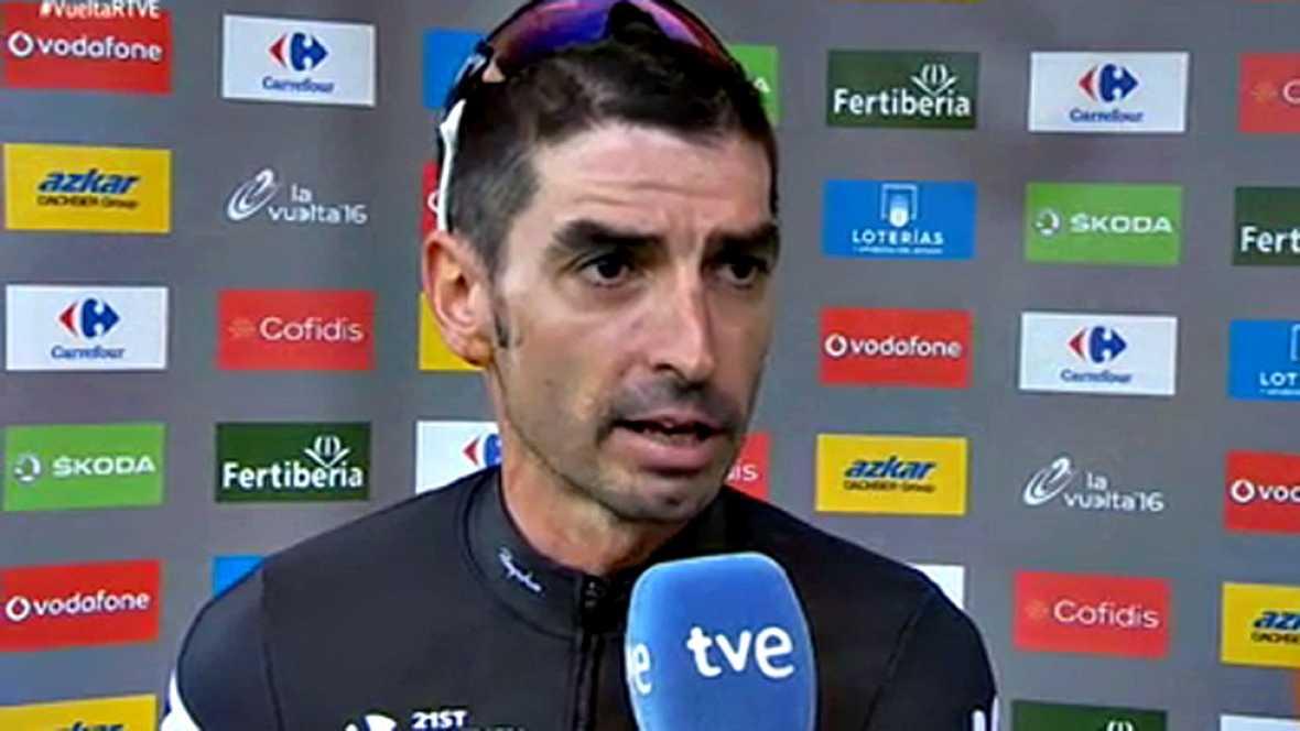 El compañero vasco del ciclista británico analiza la forma de afrontar la carrera de su líder.