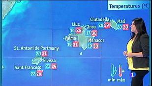 El temps a les Illes Balears - 30/08/16