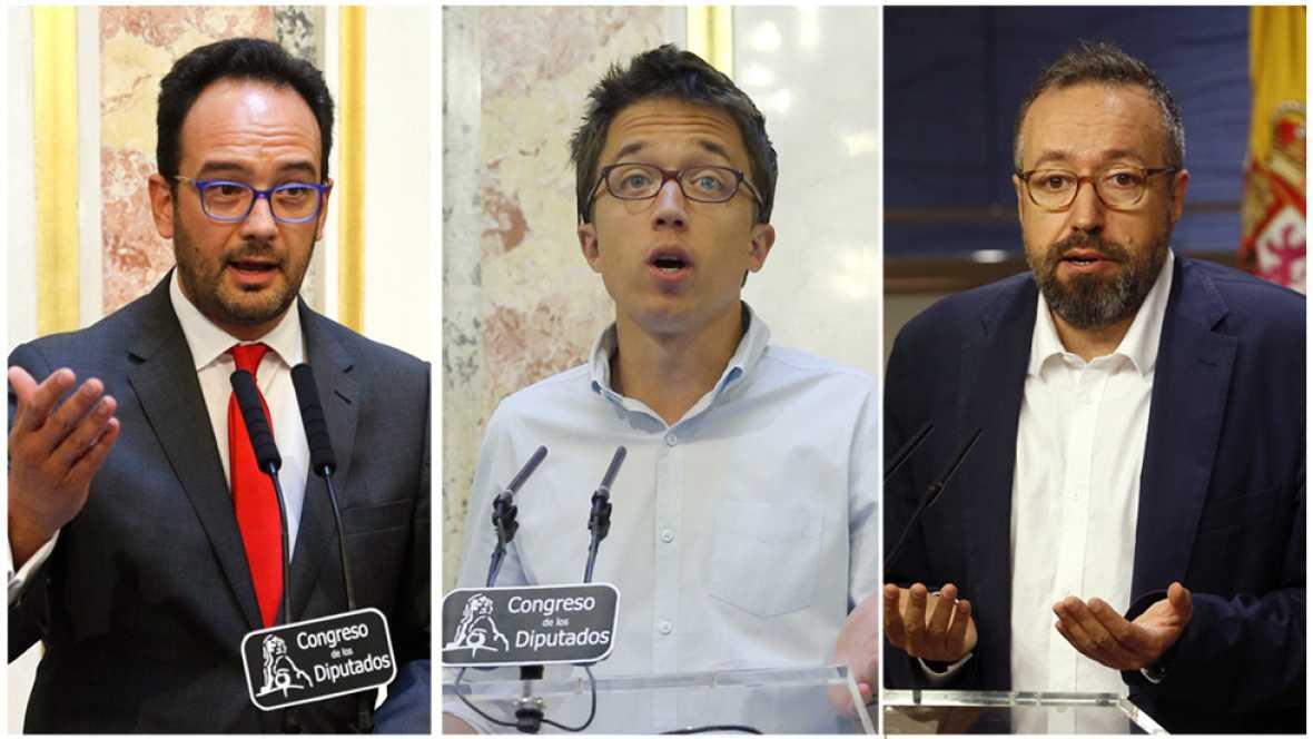 El discurso de Rajoy no logra convencer a los partidos de la oposici�n