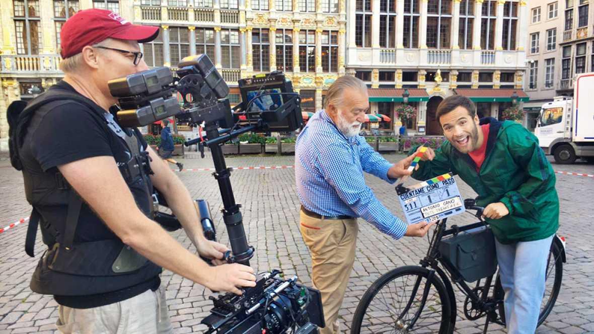 Cuéntame cómo pasó - Making of - Carlos comienza la 18ª temporada en Bruselas