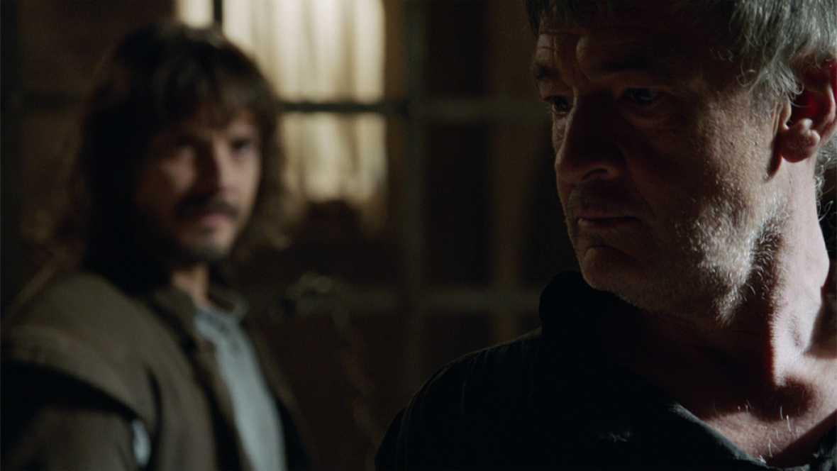Águila Roja - Gonzalo advierte a Hernán de que no le dejará ser rey
