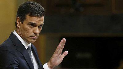 S�nchez reitera que el PSOE votar� en contra porque 'Espa�a necesita un gobierno, no un mal gobierno'