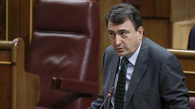 """Aitor Esteban (PNV) califica el discurso de investidura de Rajoy de """"rancio e irresponsable"""""""
