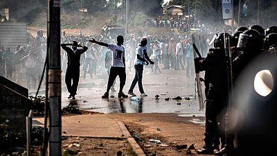 Disturbios en Gabón