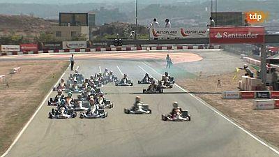 Automovilismo - Campeonato de Espa�a de Karting. Prueba MotorLand - ver ahora