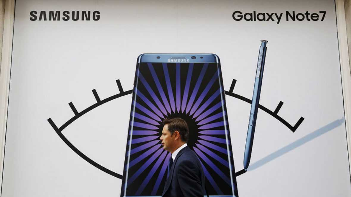 Samsung suspende la venta del Galaxy Note 7, que lanzó hace menos de quince días