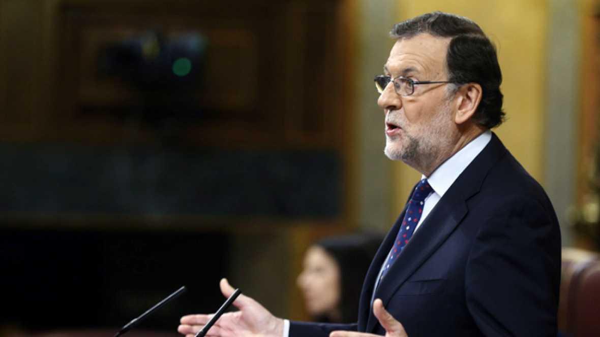 """Rajoy apela a la """"alianza natural"""" de PSOE y PP para gobernar y le pide a Sánchez que diga su alternativa"""