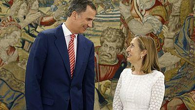 El rey recibe el lunes a Ana Pastor en un nuevo escenario con múltiples posibilidades