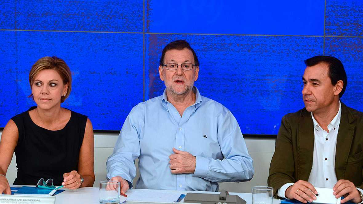 Cierre de filas del Partido Popular en torno a Mariano Rajoy.