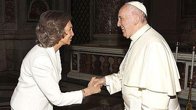 Una relación de admiración mutua entre la reina Sofía y Teresa de Calcuta