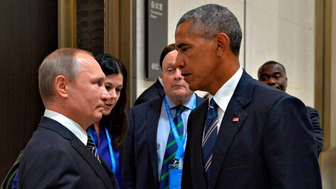 Sigue el bombardeo en Siria mientras los líderes más importantes del planeta se ponen de acuerdo sobre Siria