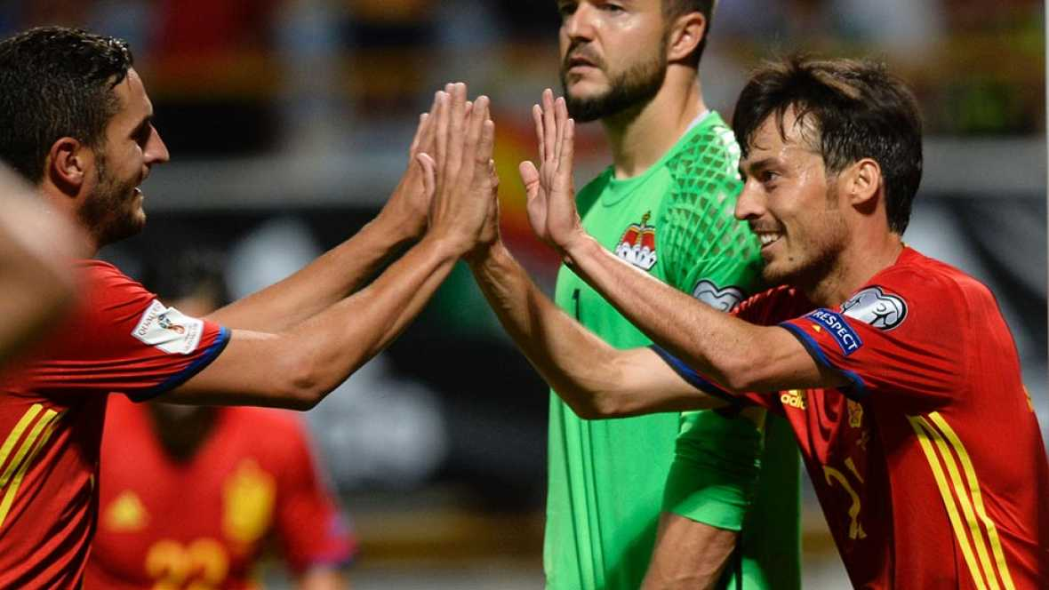Silva cierra el marcador con el 8-0