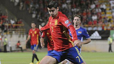 """Morata:""""Era importante ganar así para que la gente se vuelva a enganchar"""""""