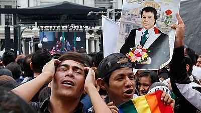 El adiós a Juan Gabriel bate records en México