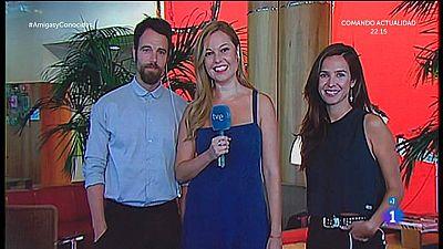 Carles Francino y Paula Prendes presentan la 2ª temporada de Victor Ros