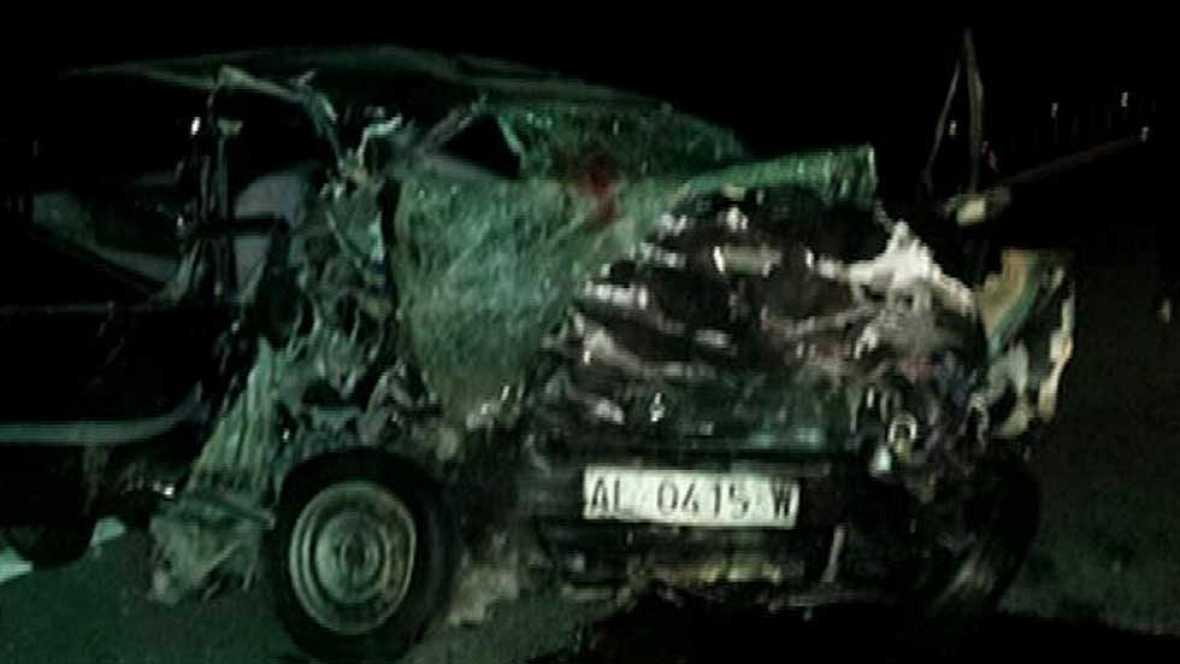 Muere una bebé en un accidente provocado por un hombre que conducía en dirección contraria en una autovía en Almería