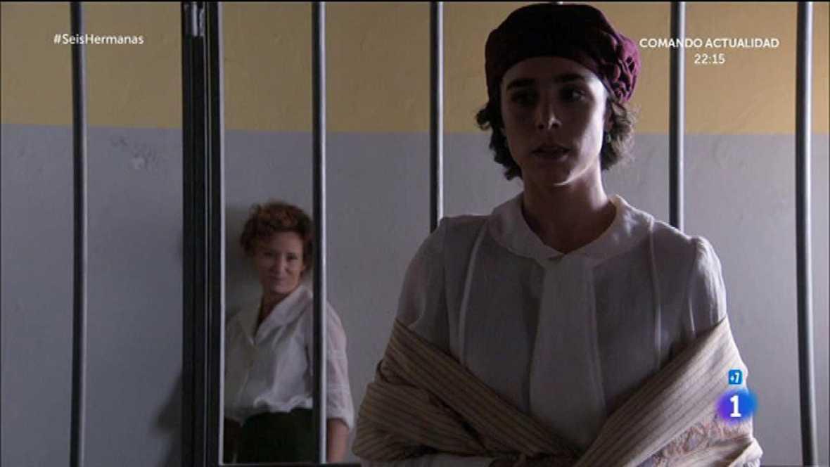 Celia se enfrenta a Marina en la cárcel