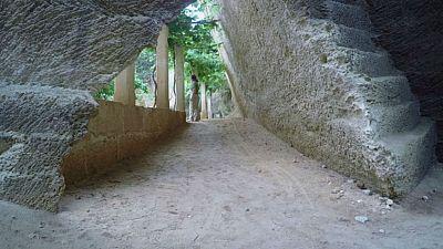 Un espacio m�gico entre piedras