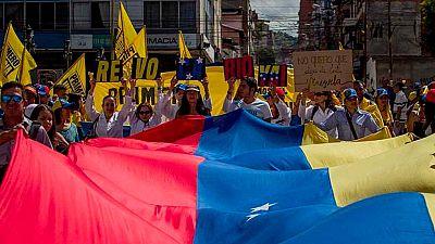Jornada de manifestaciones en Venezuela, a favor y en contra del Gobierno
