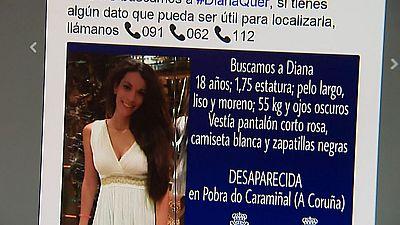 Las redes sociales facilitan la investigación de la Policía Nacional sobre el caso Diana Quer