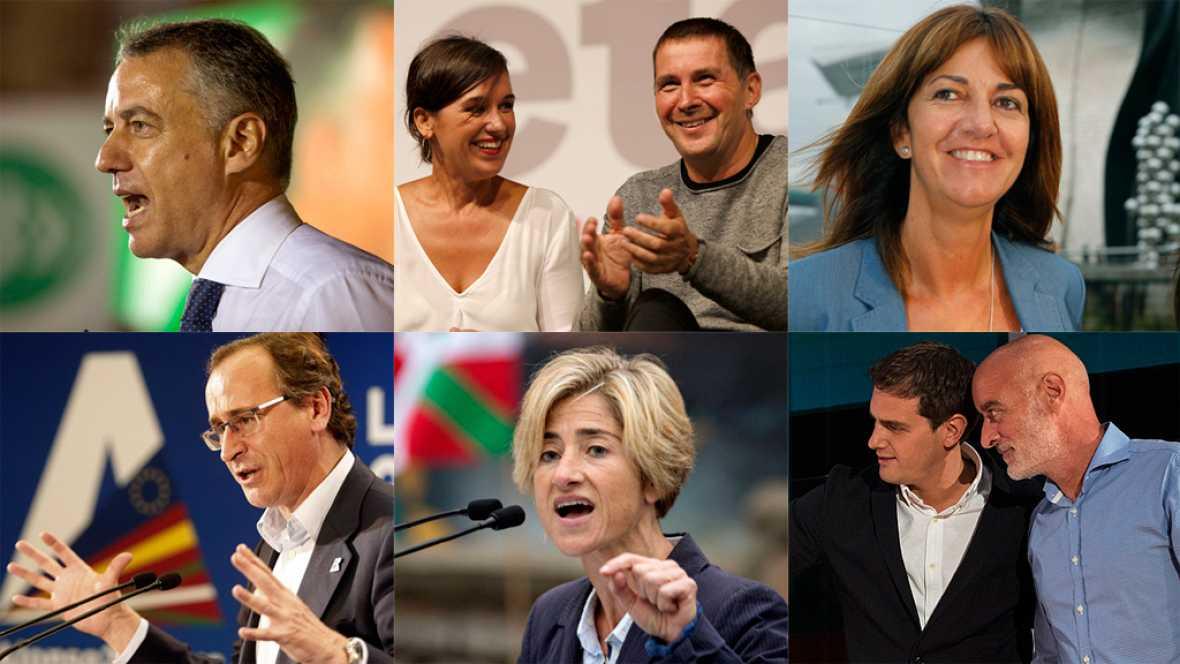 La campaña de las elecciones vascas da el pistoletazo de salida con la inhabilitación de Otegi de fondo