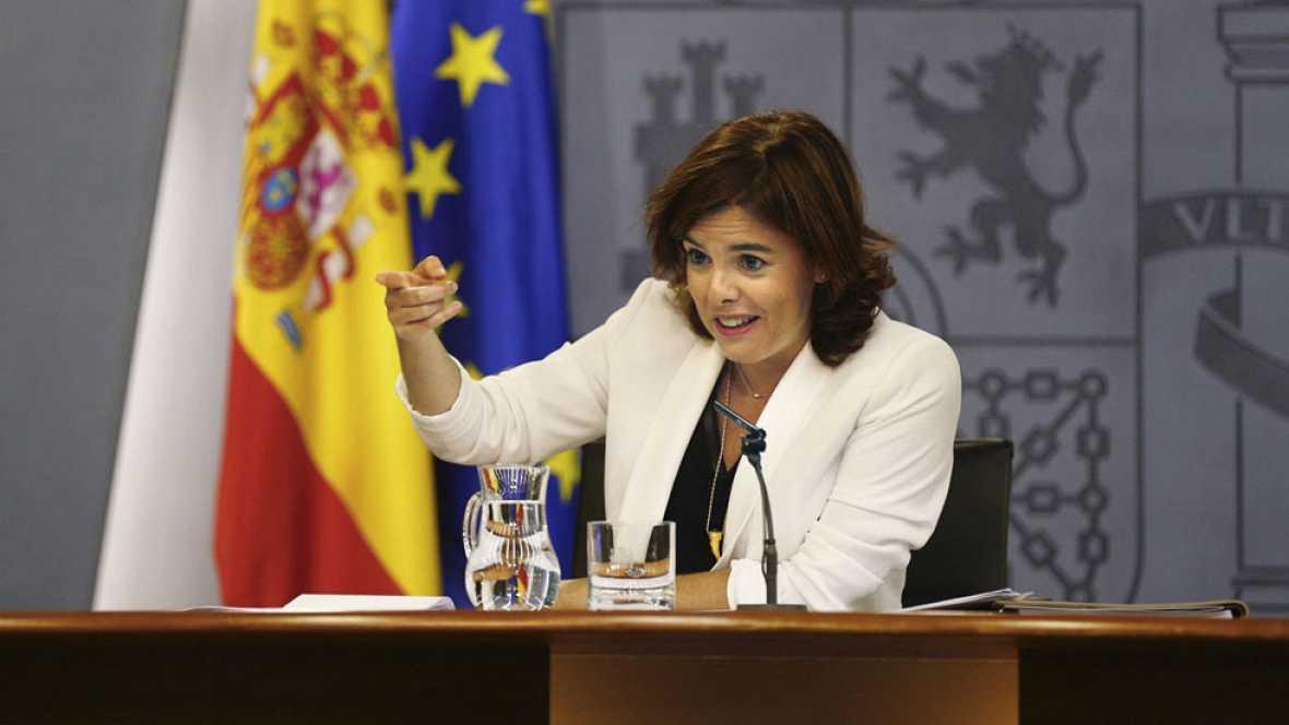 El Gobierno rechaza que De Guindos de las explicaciones sobre Soria en pleno como pide la oposición