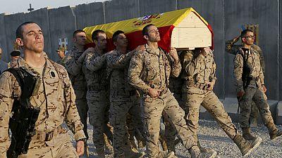 El cuerpo del soldado español fallecido en Irak llegará este sábado a España