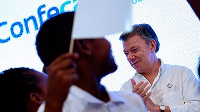 El presidente de Colombia valora el acuerdo de paz alcanzado con las FARC