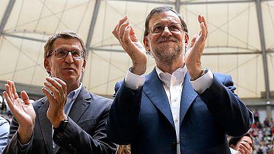 Los líderes de los partidos nacionales se implican en las elecciones de Galicia y País Vasco