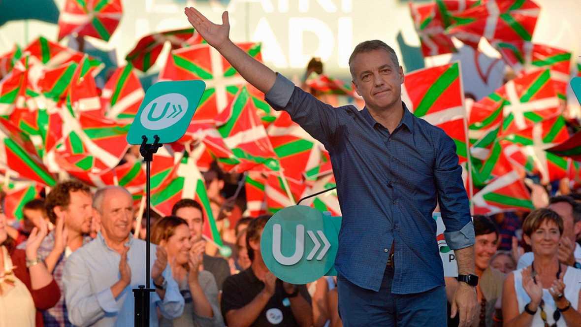 """El PNV pondera su """"capacidad de diálogo"""" frente al """"bloqueo y el veto"""" de Madrid"""