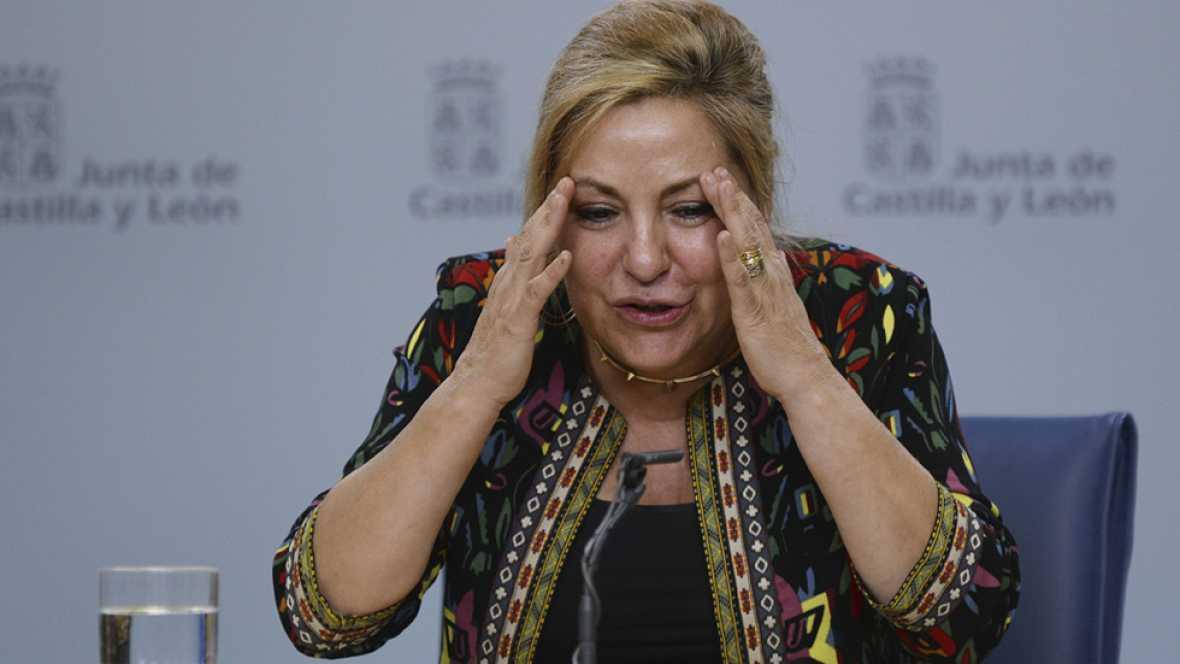Dimite la vicepresidenta de Castilla y León al triplicar la tasa de alcoholemia tras un incidente de tráfico
