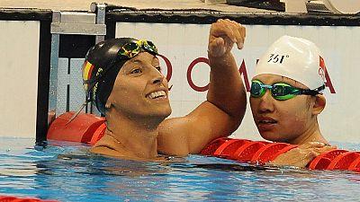 """Teresa Perales: """" He nadado con incomodidad"""""""