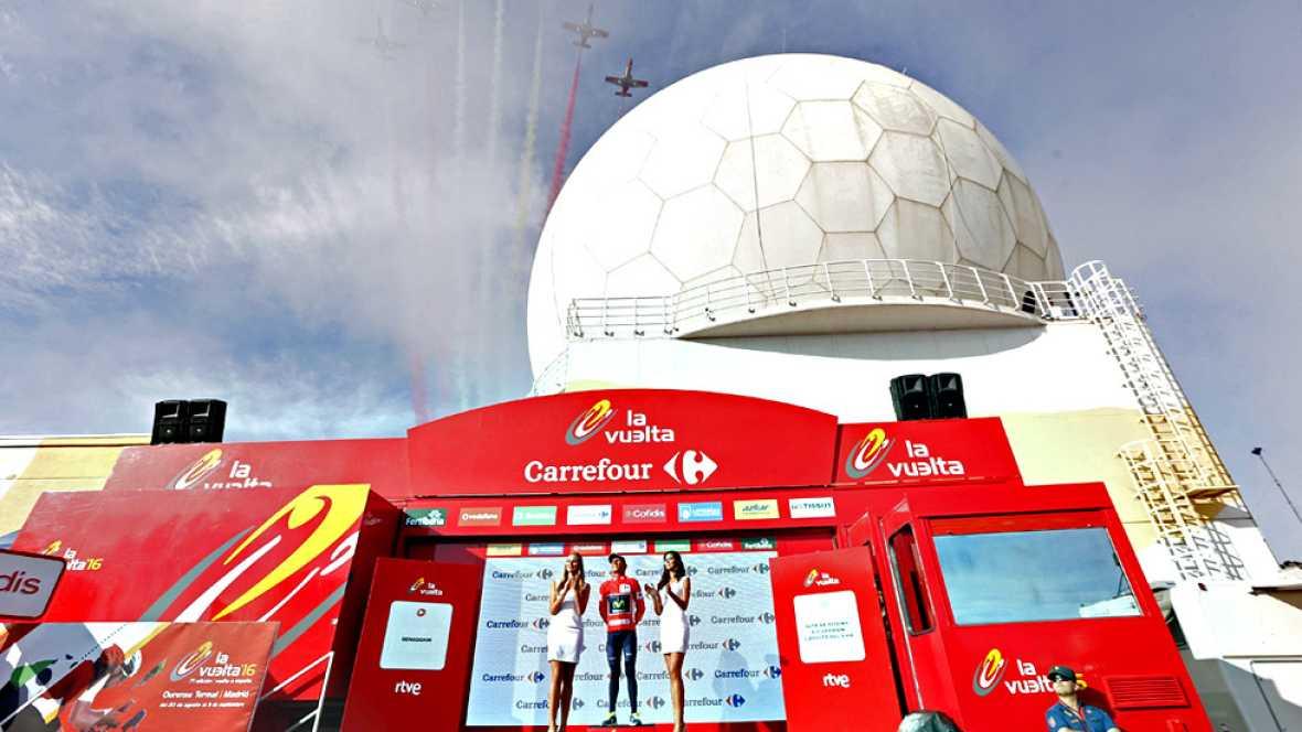 La cobertura televisiva de un evento como la Vuelta ciclista a España 2016 es complejo y requiere de un gran despliegue tanto técnico como humano.