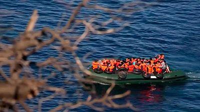 Una española llega a Lesbos en patera procedente de Turquía