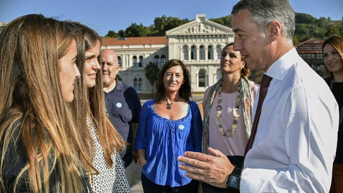 Elecciones País Vasco 2016 | Urkullu ofrece pisos de alquiler y otras propuestas para jóvenes