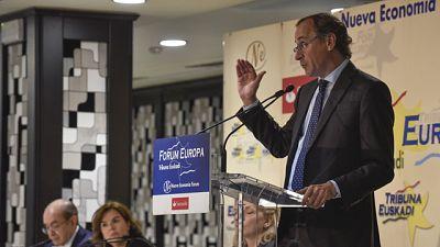 """Alonso asegura que el PP es el contrapeso al """"nacionalismo imperante"""" en el País Vasco"""