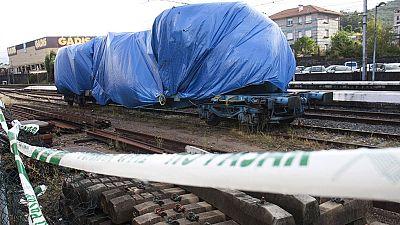 El tren que descarriló en O Porriño circulaba con exceso de velocidad, según el perito de la Xunta